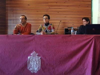 Carme Ruscalleda omple la Sala Cultural de l'Ajuntament de Solsona