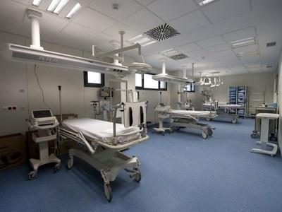 Fènix, assisteix a la presentació de les instal·lacions del nou Hospital de Sant Joan de Déu de Manresa.