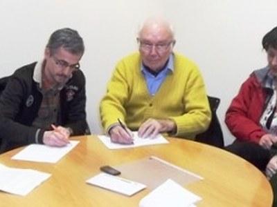 Fènix i el centre d'esport i salut Espaigua signen un acord de col·laboració