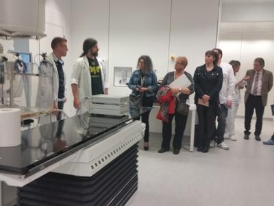 Fènix visita el nou servei de radioteràpia que ofereix la Fundació Althaia