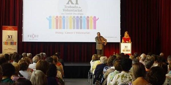 L'Associació Fènix participa a la XI Trobada de voluntariat en l'àmbit oncològic a Barcelona