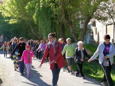 La caminada terapèutica de Fènix assoleix un èxit de participació