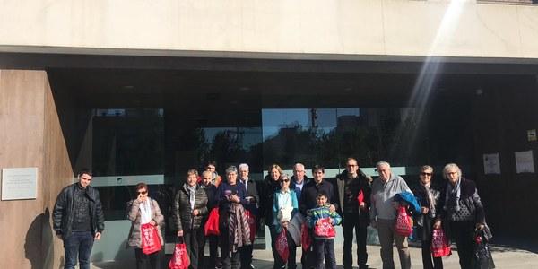 L'Associació Fènix visita el Banc de Sang i Teixits