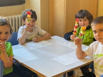 Mes de cent setanta nens i nenes dels centres escolars de Solsona participen a l'Hort d'en Marçal