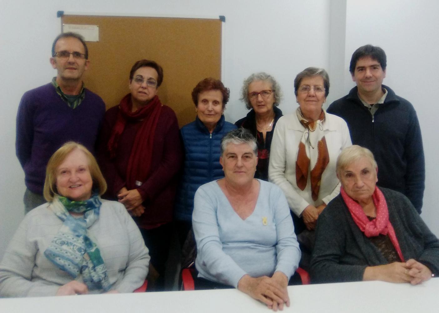 Membres de la junta de l'Associació FÈNIX